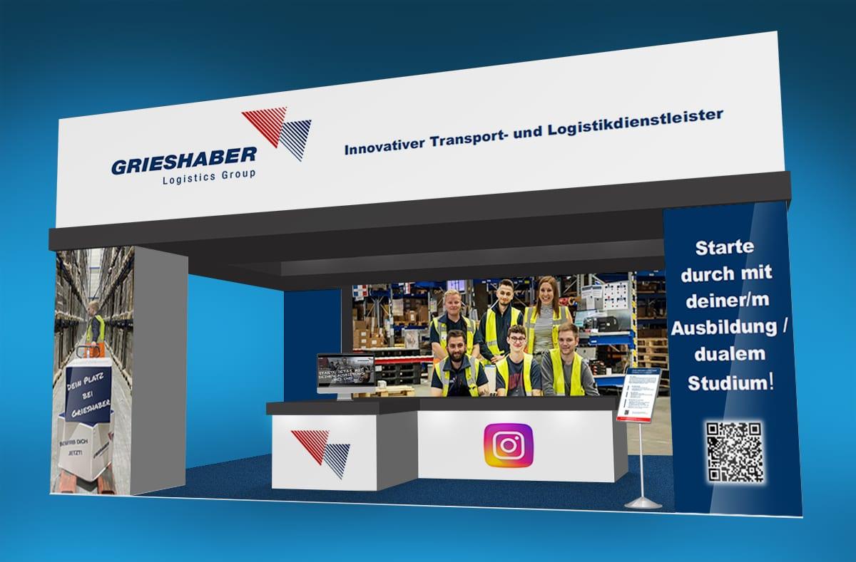 Grieshaber Logistics Ausbildungsbörse Lauchringen Messestand